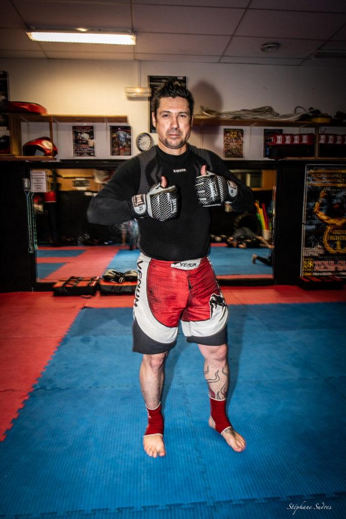 Le prof de boxe