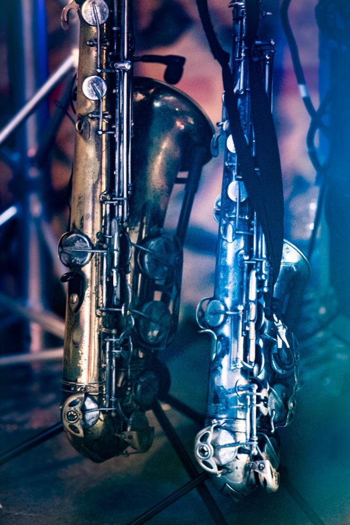 """Deux saxophones pour le mariage à Toulouse lors de l'émission de télé """"4 mariages et une Lune de miel"""""""